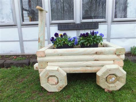 Landscape Timber Basket Planter Plans Free 1000 Images About Landscape Timber Projects On