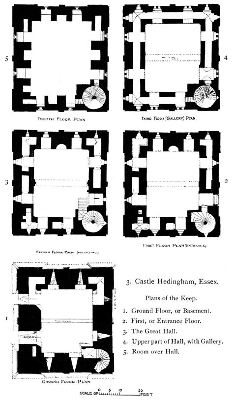 Renaissance Homes Floor Plans file hedingham castle plans from the growth of the