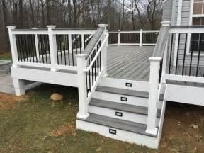vinyl handrail covering 25 best ideas about deck railing design on