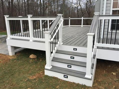 different deck designs best 25 trex railing ideas on deck railings