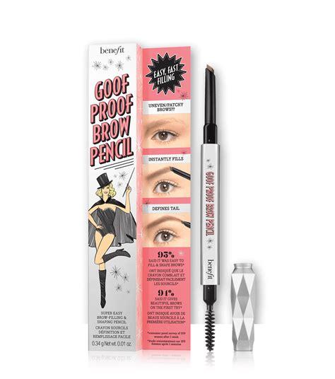 goof proof eyebrow pencil benefit cosmetics