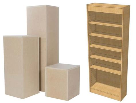 Plinths And Pedestals strata panels uk exhibition stand design contract furniture manufacturers