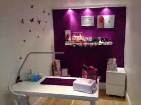 color room salon nail room idea the purple color nails and designs