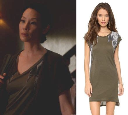 Stylefoul Watsons Mangled Bird Dress by Elementary Season 3 Episode 3 Joan Watson S Liu