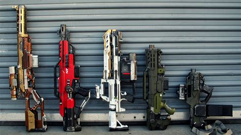 cool modded the best nerf guns for custom painting and modding tested