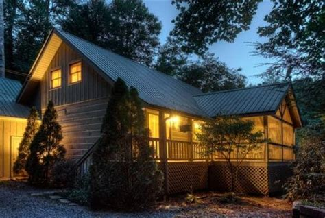 Blue Sky Cabin Rentals Offer Code by Waterfront Cabin By The Riverside