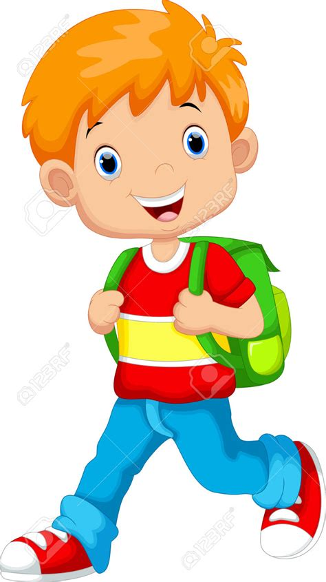 Boy Clipart Cute Pencil And In Color Boy Clipart Cute Boy Images Free