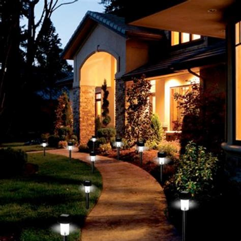 Outdoor Lighting For Landscaping Projects Quinju Com Solar Lights Backyard