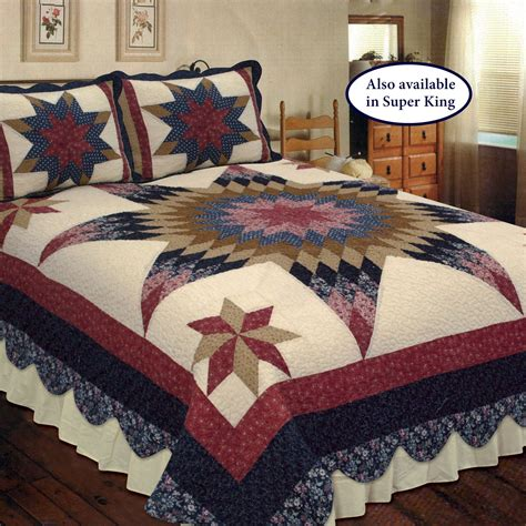 Patchwork Quilts Bedding - prairie patchwork quilt bedding