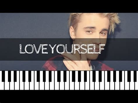 tutorial keyboard love yourself justin bieber love yourself piano tutorial nederlands