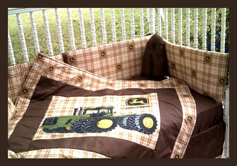 john deere bed set new john deere crib bedding set with large tractor blanket and