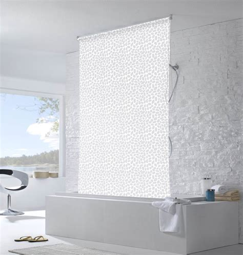 colourful roller blind bathroom roller blind shower curtain roller blind shower curtain