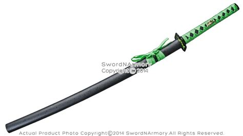 Pedang Samurai Katana Black Greend 40 quot killer samurai katana sword neo green