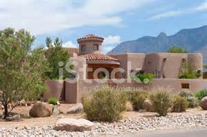 modern adobe houses modern southwest adobe house stock photos freeimages