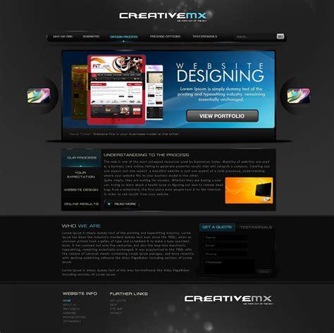 Creative Portfolio Template By Princepal On Deviantart Creative Portfolio Template Free