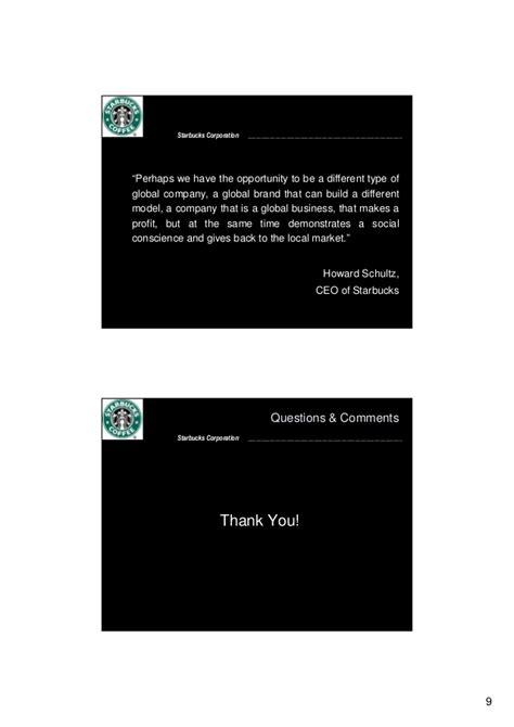 Mba In A Starbucks by Mba698 Starbucks In Brazil Presentation 1