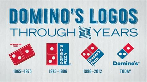 domino pizza font domino s logos through the years all american logos