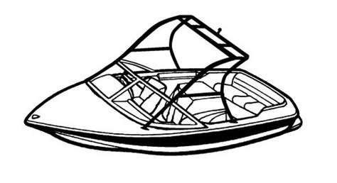 carver boat covers for tournament ski boat with tower - How To Draw A Malibu Boat