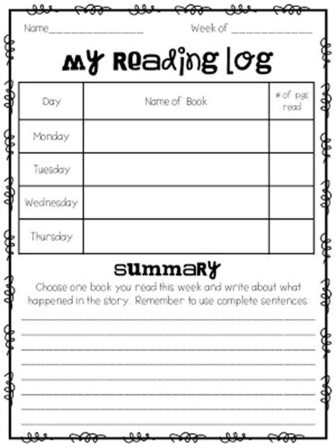 (click the picture to download my reading log for FREE!)