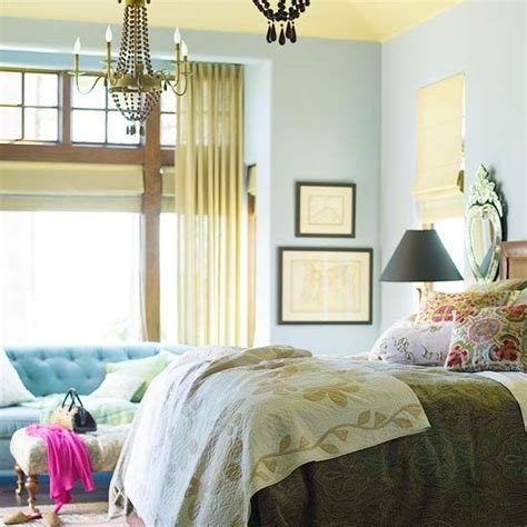 cottage bedroom lighting flea market chic bedroom ideas bhg style spotters