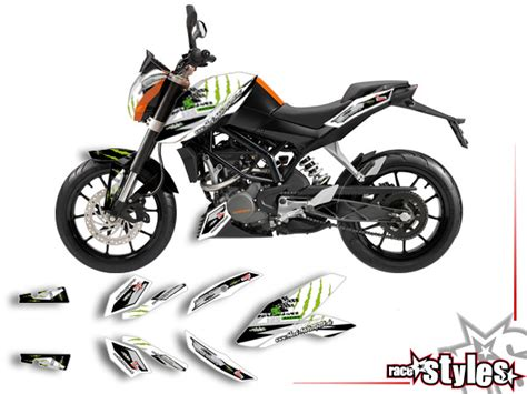 duke 125 dekor ktm 125 990 187 125 200 duke 187 02 basic kit