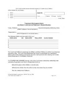 orders texas restraining fill online printable