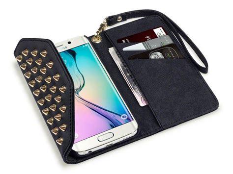 Casing Hp Samsung Galaxy S6 Edge S6 Edge Plus Boston Bruins Z3103 covert studded trifold wallet samsung galaxy s6