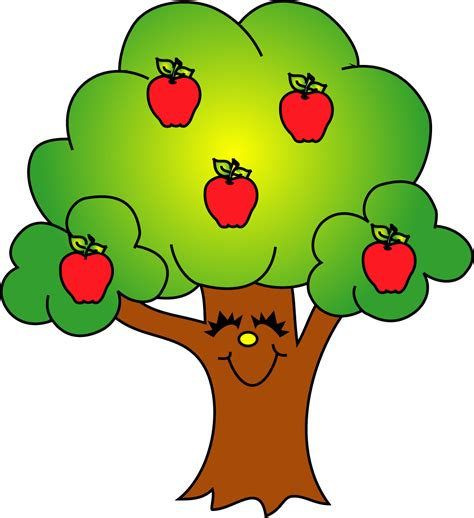 apple tree clipart free trees clipart pictures clipartix