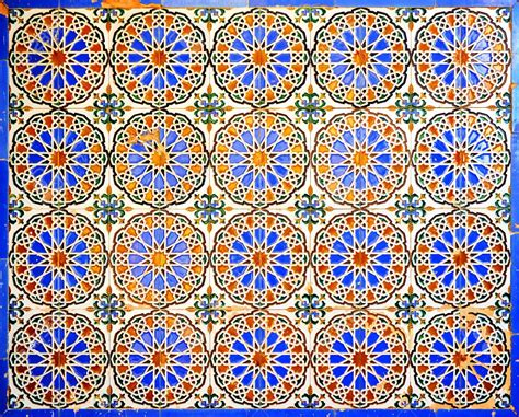 pattern pattern in spanish 30427247 old tiles arabic style pattern background seville