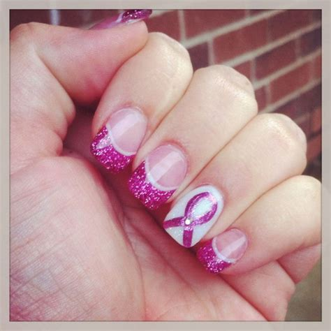 pink glitter acrylic nail designs 15 clear glitter acrylic nail designs images clear