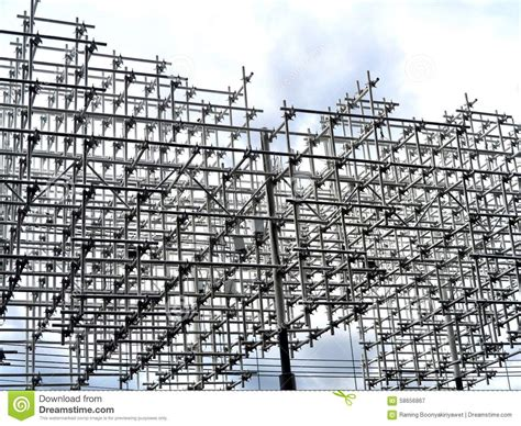 steel frame design exle steel frame stock image image of girder frame