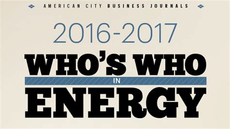 Whos News by Here Are Who S Who In Pittsburgh Region Energy Industry