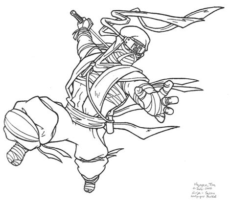 cool ninja coloring pages new coloring page awesome black and white images of ninjas
