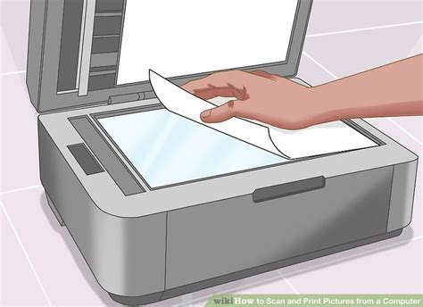 scan computer how to scan and print pictures from a computer 13 steps