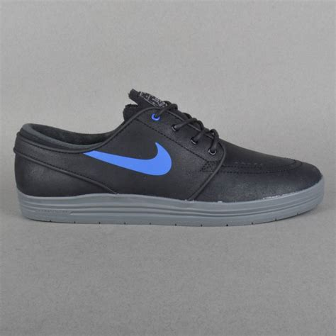 cool nike sneakers nike sb lunar stefan janoski skate shoes black