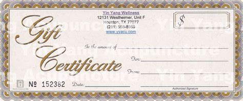 gift card template pdf 7 new gift certificate templates certificate templates