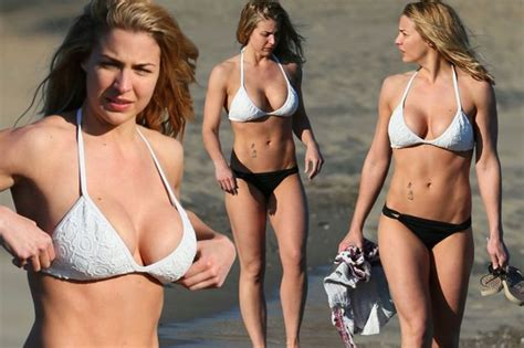 Rose Valance My Republica Gemma Atkinson Shows Off Jaw Dropping
