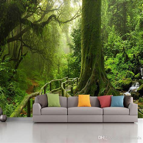 green wallpaper murals green wallpaper for living room peenmedia com