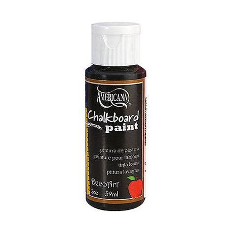 chalkboard paint black decoart americana chalkboard paint black slate ds90 59ml