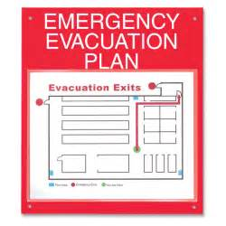 Emergency Exit Map Template by Evacuation Plan Frames Images