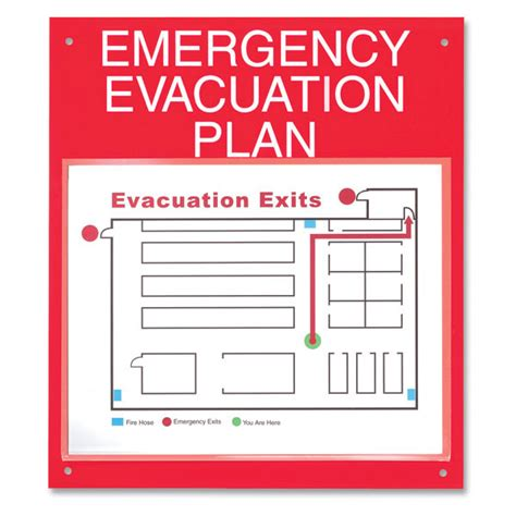 Map Out Your Emergency Evacuation Plan Board Emergency Evacuation Route Template