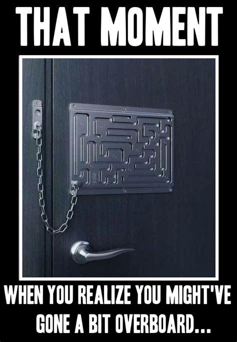 Door Meme - smart door lock memes