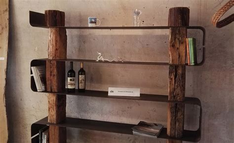 libreria legno naturale wood creations due librerie in legno naturale social
