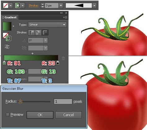 illustrator tutorial tomato illustrator tutorial creating realistic tomatoes