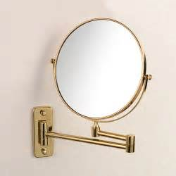 retractable bathroom mirror wall retractable makeup mirror double faced mirror
