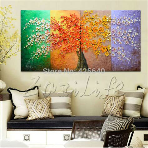 wall paintings for living room aliexpress com buy oil painting on canvas wall pictures