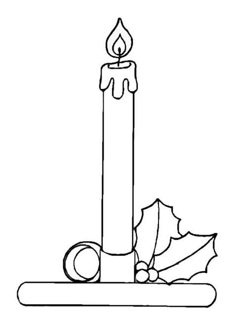 imagenes de velas navideñas para dibujar dibujo para colorear vela de navidad img 8655