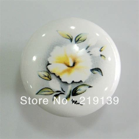 Porcelain Cupboard Knobs by Ceramic Furniture Kitchen Cabinet Hardware Drawer