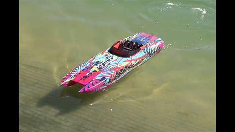 traxxas m41 boat traxxas m41 pre production youtube