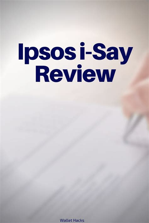 say i you review ipsos i say review is it a scam or legit